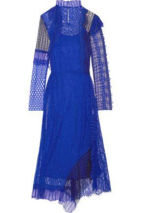 3.1 PHILLIP LIM Asymmetric corded lace midi dress
