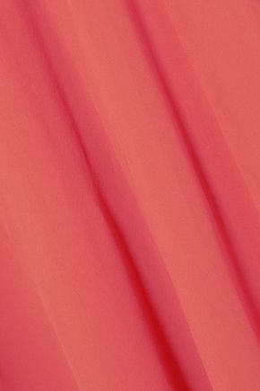 GIAMBATTISTA VALLI Cape-effect silk-chiffon gown