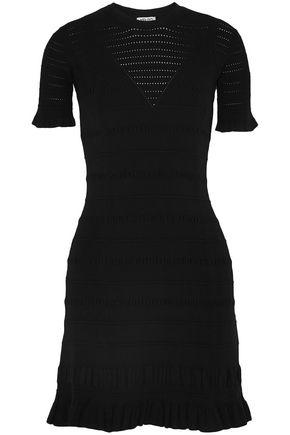 KENZO Pointelle-knit mini dress