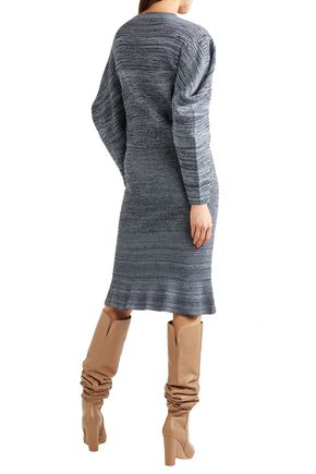 STELLA McCARTNEY Marled cotton dress