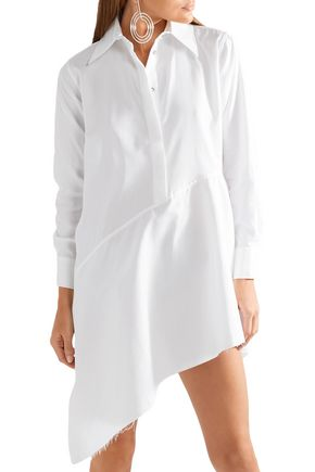 MARQUES' ALMEIDA Asymmetric cotton-poplin tunic