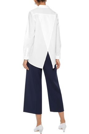 IRIS & INK Alice cotton-poplin shirt
