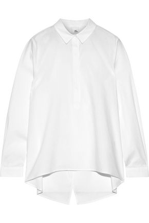IRIS & INK Alice cotton-poplin shirt