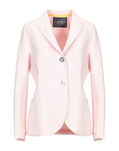 Фото - Женский пиджак eWOOLuzione розового цвета