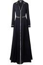 GABRIELA HEARST Lempicka pleated silk-twill maxi dress
