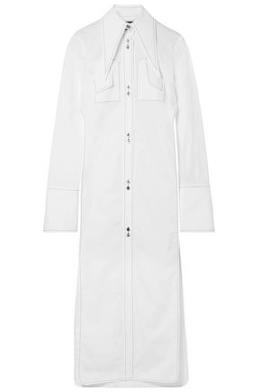 ELLERY Kaleidoscope cotton-poplin shirt
