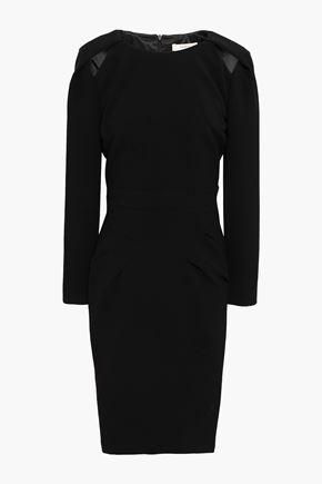 BA&SH Cutout crepe dress
