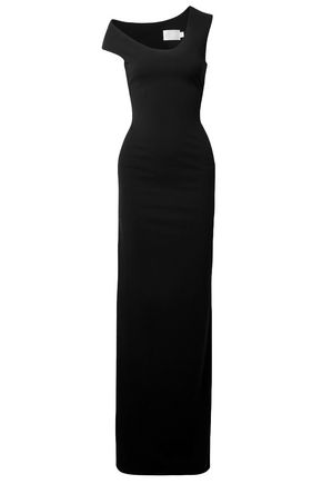SOLACE LONDON Stretch-crepe maxi dress