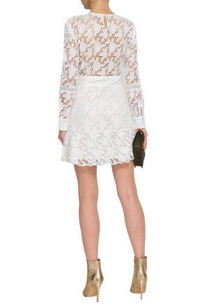 BA&SH Aphrodite cotton-broderie anglaise mini dress