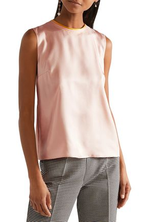 ROKSANDA Kobe silk-satin top
