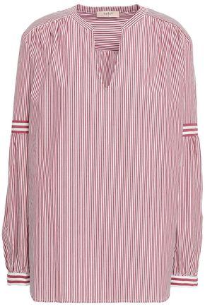 BA&SH School striped cotton-poplin blouse