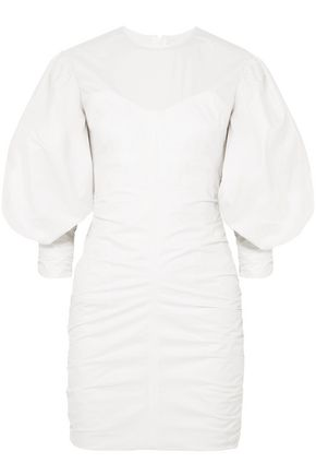 ISABEL MARANT May ruched cotton mini dress