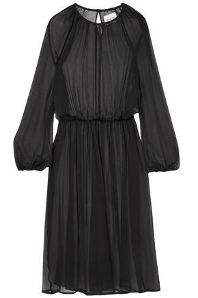GEORGIA ALICE New Angel silk-chiffon midi dress