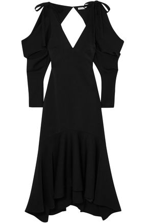 REJINA PYO Camille open-back crepe midi dress