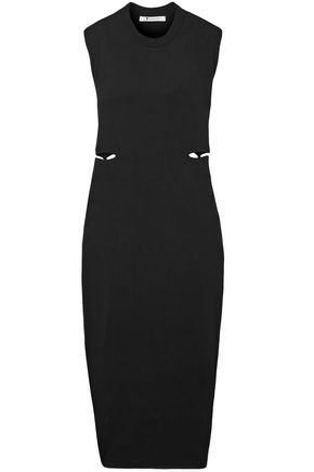 T by ALEXANDER WANG Cutout stretch-modal dress