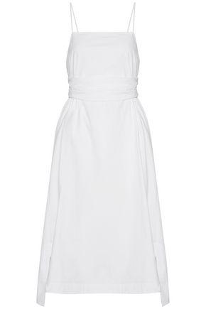 ELIZABETH AND JAMES Cotton-blend poplin dress