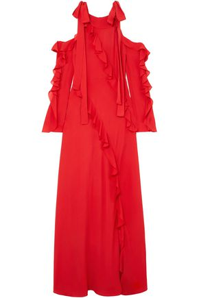 Woman Gowns Red