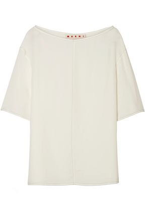 MARNI Crepe de chine top