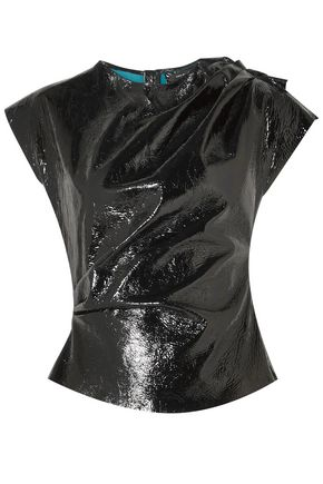 ISABEL MARANT Patent-leather top