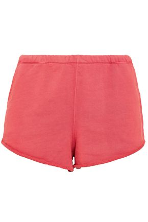 FRAME French cotton-terry shorts