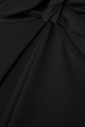 MICHAEL KORS COLLECTION Cutout stretch-jersey midi dress