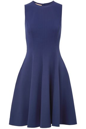 MICHAEL KORS COLLECTION Wool-blend crepe dress