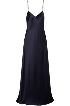 GALVAN  London Alcazar satin maxi slip dress