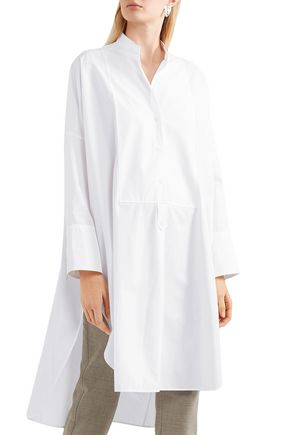 JIL SANDER Estelle cotton-poplin tunic