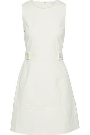 DEREK LAM 10 CROSBY Stretch-cotton twill dress