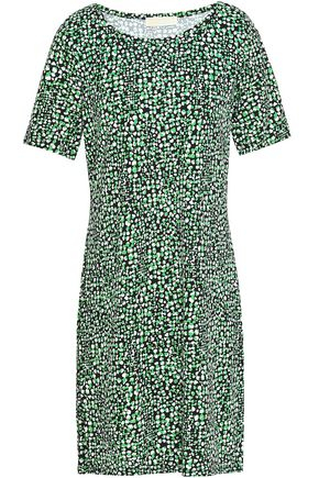 MICHAEL MICHAEL KORS Printed stretch-jersey dress