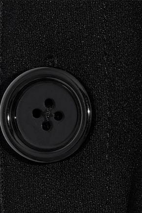 PROENZA SCHOULER Cutout ruffle-trimmed crepe tunic