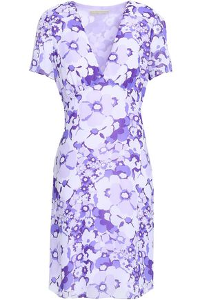 MICHAEL MICHAEL KORS Floral-print georgette dress