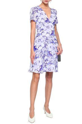 MICHAEL MICHAEL KORS Floral-print georgette dress