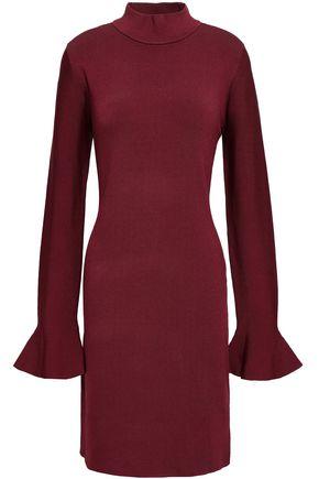 MICHAEL MICHAEL KORS Stretch-knit mini turtleneck dress