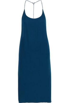 MIKOH Silk-chiffon slip dress
