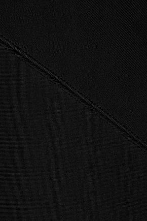 ROLAND MOURET Barnsley cutout stretch-knit dress