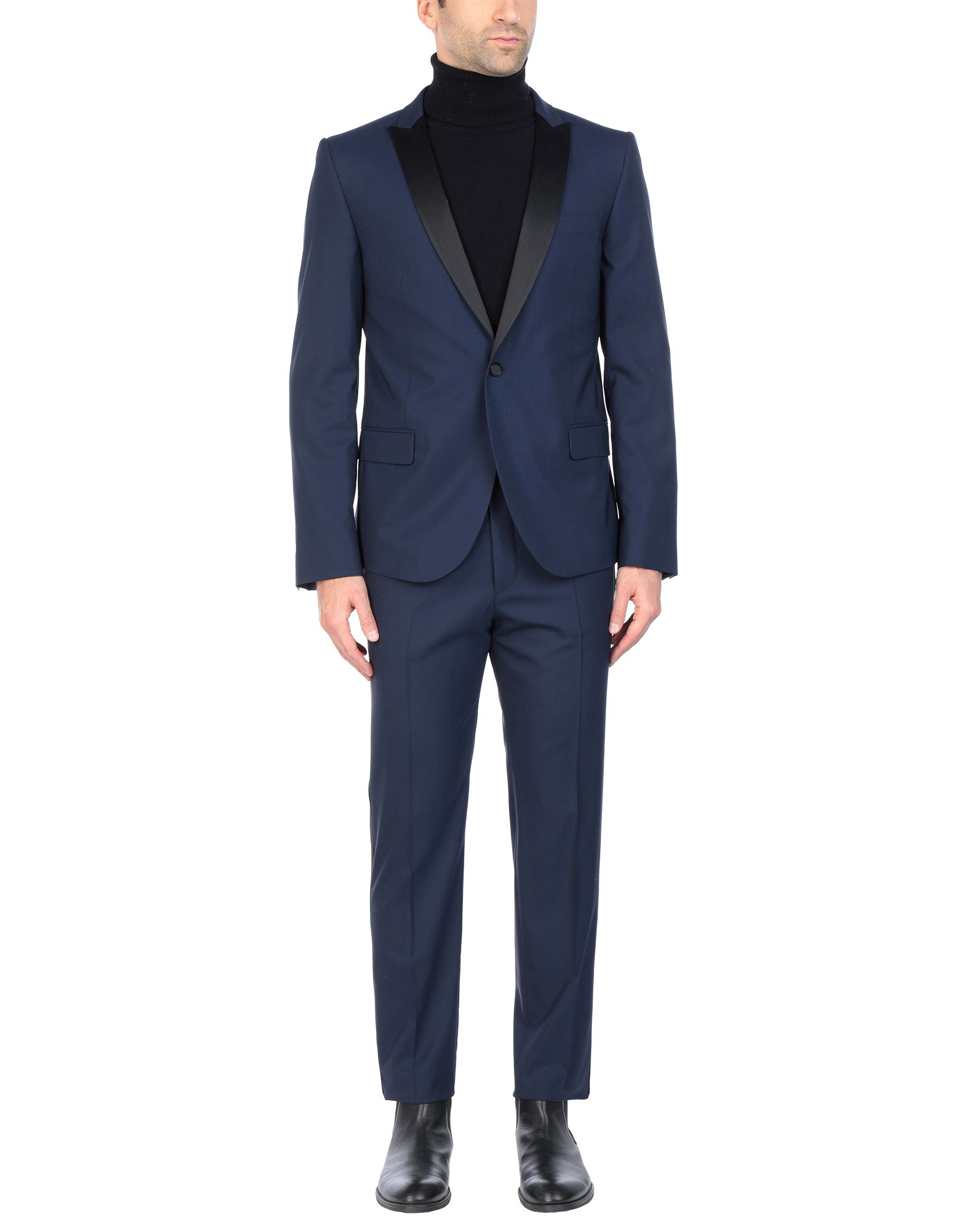 MSGM Suits. cool wool, no appliqués, solid color, multipockets, pocket with flap, single chest pocket, two inside pockets, 1 button, lapel collar, single-breasted, long sleeves, fully lined, dual back vents, mid rise, hook-and-bar, zip, stretch. 97% Virgin Wool, 3% Elastane