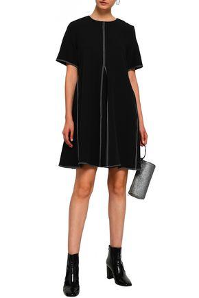 PAPER London Flared twill mini dress