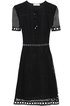 MICHAEL MICHAEL KORS Broderie anglaise mini dress