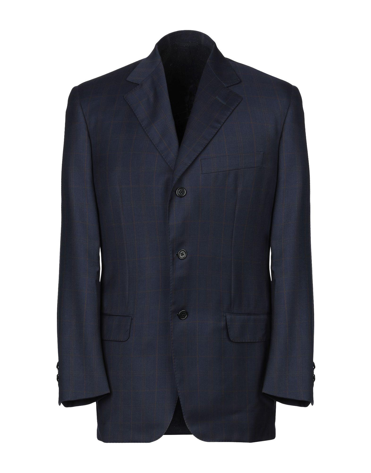 BARTON Пиджак шерстяной пиджак мужской в клетку
