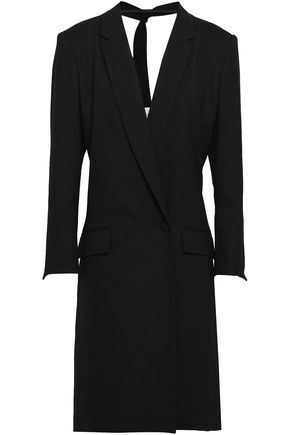CAROLINA HERRERA Wool-blend crepe dress
