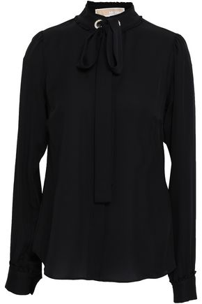 MICHAEL MICHAEL KORS Embellished silk shirt