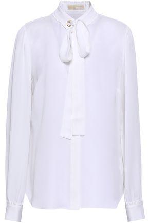 MICHAEL MICHAEL KORS Embellished silk shirt