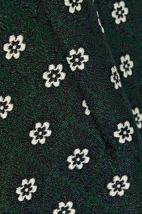 ALEXACHUNG Embellished jacquard dress