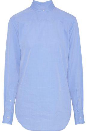 THOM BROWNE Cotton-poplin shirt
