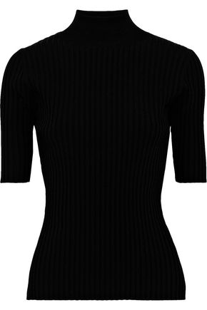 DIANE VON FURSTENBERG Ribbed-knit top