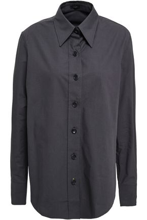 JOSEPH Oversized cotton-poplin shirt