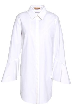 MICHAEL KORS COLLECTION Cotton-blend poplin shirt