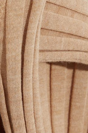 IRIS & INK Ribbed wool turtleneck sweater