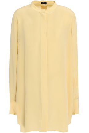 JOSEPH Tie-back silk crepe de chine tunic